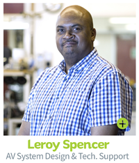 Leroy Spencer, CIE AV Solutions