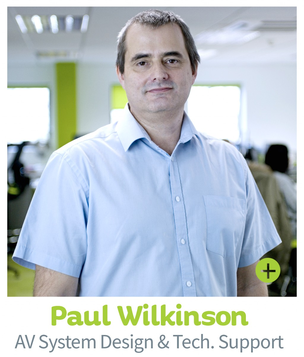 Paul Wilkinson, CIE AV Solutions