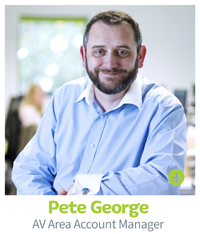 Pete George, CIE AV Solutions