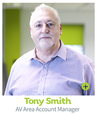 Tony Smith, CIE AV Solutions