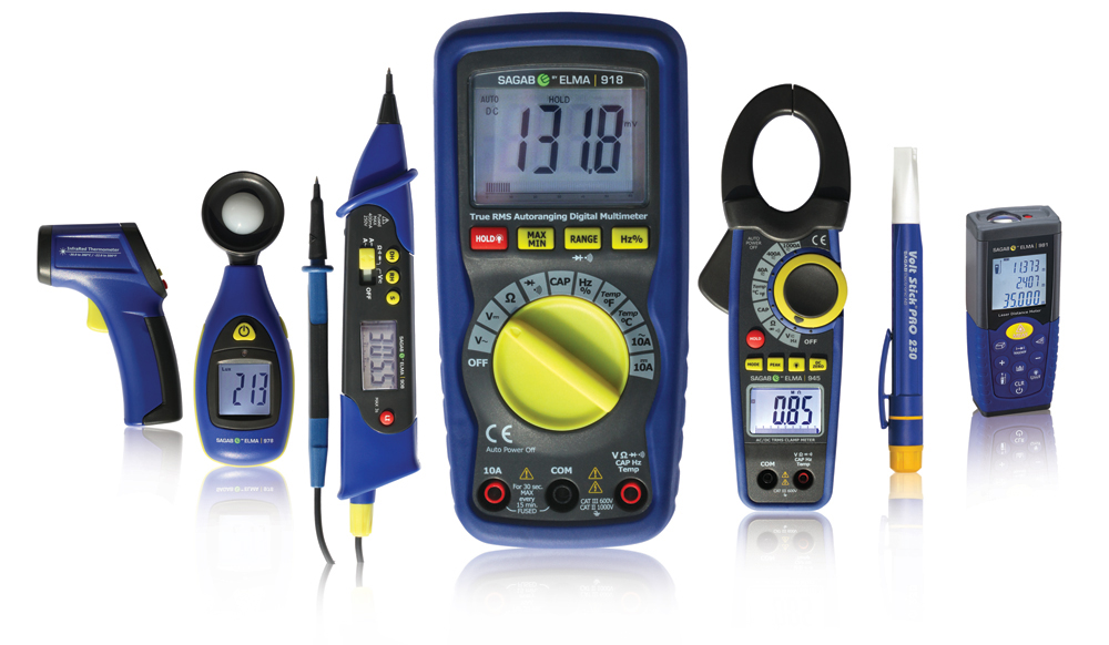 Sagab Elma Test Meter Range from CIE