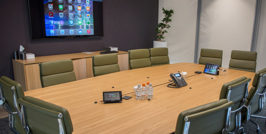 boardroom set up